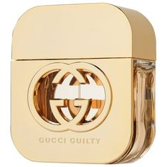 Women's Gucci Guilty by Gucci Eau de Toilette - 1.6 oz (220 BRL) ❤ liked on Polyvore featuring beauty products, fragrance, perfume, accessories, filler, perfume fragrance, floral fragrances, oriental fragrances, eau de toilette fragrance and gucci perfume