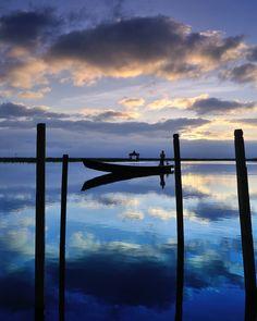 KE Adventure Travel - Burma - Early morning boatman by Martin Gould