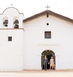 El Presidio Chapel - Santa Barbara, California -repinned from SB County, California officiant https://OfficiantGuy.com #sb #weddings