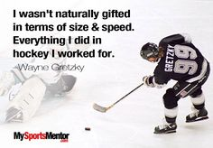 This is my hockey quote. I took this picture because I would like to be a better…