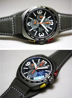 【楽天市場】イタリアのAVIO MILANO【アヴィオ・ミラノ】40mmクロノグラフ腕時計/ミリタリーデザイン:加坪屋(かつぼや)