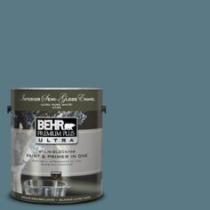 "BEHR Premium Plus ""Catalina Coast"" Semi-Gloss Enamel Paint"