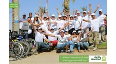 As part of our belief in the importance of sports and in the spirit of GBI, Egyptian Steel as the official sponsor of GBI organized a biking tour for its employees and GBI's team members on the 90th street- new Cairo. This event was held on Friday May 30th