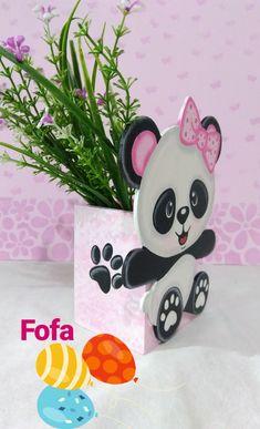 Ideas For Baby Shower Nena Bailarina Panda Themed Party, Panda Birthday Party, Panda Party, Panda Baby Showers, Diy And Crafts, Crafts For Kids, Diy Baby Shower Decorations, Baby Shower Vintage, Baby Girl First Birthday