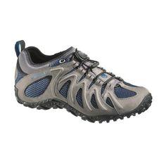 Merrell Shoes Men Chameleon 4 Merrell Men s Chameleon 4 Stretch Hiking Shoe  Leather Vibram sole Bungee 9488ca4a1