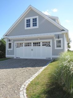 Ok… SPRING is here so it's time to Enhance that Curb Appeal!Here are 5 ways you can bring that Coastal Style to your home #1: Nantucket Anyone? How about Clam Shell Walkways & Driveways? This front walkway is made out of clam shells. Although they aren't comfortable to