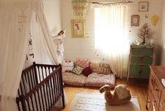 #Chambre de #bébé aux notes bohémiennes | Mon Bébé Chéri
