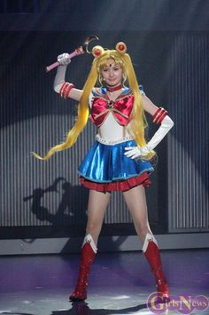 Pretty Guardian Sailor Moon ☆ La Reconquista ~ Satomi Ookubo as Sailor Moon