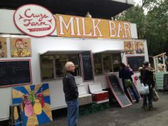 Cruze Farm Dairy Bar in downtown Knoxville TN