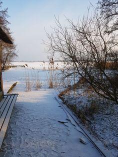 Een bevroren landschap