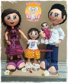 Cristina Camps Fofuchas: FAMILIA FOFUCHOS