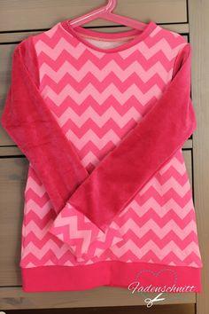 Fadenschnitt: Pyjama in Pink