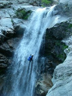 Samothraki Island, Giali Canyon, N. Greece Tourism, Greece Travel, Waterfall Fountain, Exotic Places, Cool Photos, Amazing Photos, Greek Islands, Beautiful Landscapes, Beautiful World