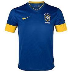 Brazil 12-13 Away Shirt Ropa Deportiva Nike 7f40d545df0b0