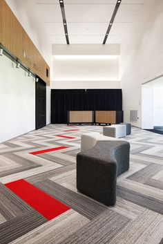 Awesome Flor Carpet Tiles For Inspiring Contemporary Carpet Design Ideas:  Contemporary Hall Design With Awesome