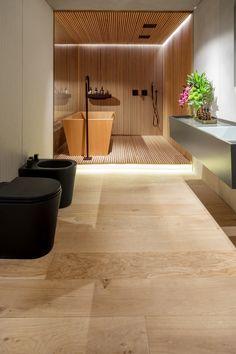 Hakwood flooring – European Oak – Authentic Collection – Original – CasaCor Triplex - São Paulo, Brazil