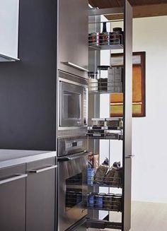 Pullout Kitchen Storage Ideas Great idea for the e