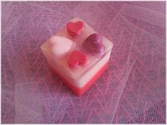 Love is Pink soap of Be My Valentine Series by by ElenisLittleShop