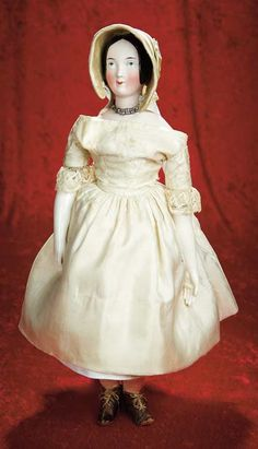 Many Wonderful Things : 212 Early German Porcelain Lady with Pink-Tinted…