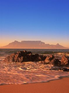 South Africa - Cape Town, Table Mountain. One of THEE most beautiful places in the world