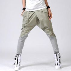 What I like about this pants is that they are different reminds me of Japanese street style. I like that it goes from straight to skinny.