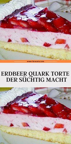 Cheese Cake Factory Menu, Easy German Recipes, Fun Desserts, Dessert Recipes, Pancake Healthy, German Baking, Cheesecake, Sweets Cake, Cake Cookies