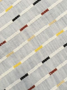 ivy // cotton // a supersoft midweight chambray blue-gray singlecloth with thin broken stripes in navy, maroon, and mustard // may 2017 Tribal Patterns, Textile Patterns, Textile Design, Quilt Patterns, Dobby Fabric, Ace And Jig, Weaving Textiles, Fabric Manipulation, Striped Fabrics