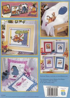 P is for Pooh Leisure Arts Counted Cross Stitch by LucyGooseyDolls