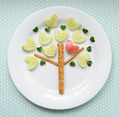 Fun vegetable snack for kids