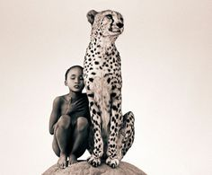 Man and Animal - Canadian filmmaker and photographer Gregory Colbert captured the relationship between man and animal. He travelled the world's most exotic spots to document the coexisting of man and animal for his photos