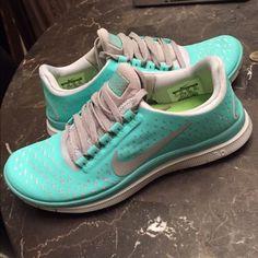 Tiffany Blue Nike Free Runs Tiffany Blue Nike Free Runs. Brand new. Nike Shoes Athletic Shoes