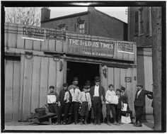 Lewis Hine. A branch office in a coal shed. St. Louis, Mo, May 1910. National Archives via Flickr.
