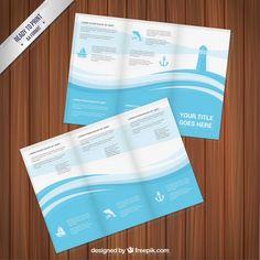 Marine Brocohure Design - FREE