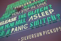 Rock Songs Tribute by Ajnin - #typography #type