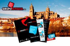 Grupo Actialia ha presentado sus servicios en Salamanca de diseño web, diseño gráfico, imprenta, rotulación y marketing digital. Para más información www.grupoactialia.com o 911.591.678