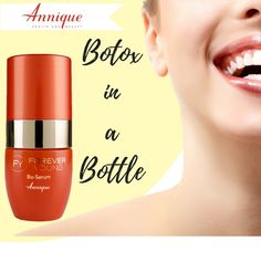 Bo-Serum is your Botox in a bottle, but unlike Botox it is a safe, non-toxic, non-invasive alternative to surgery or injections. See your wrinkles diminish with every application of this potent serum! Beauty Industry, Forever Young, Health And Beauty, Serum, Anti Aging, Remedies, Lipstick, Skin Care, Bottle