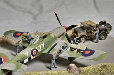 Diorama ww2 Airfix D-Day Air Assault A50157 1/72 1:72
