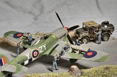 Diorama ww2 Airfix D-Day Air Assault A50157 1/72 1:72