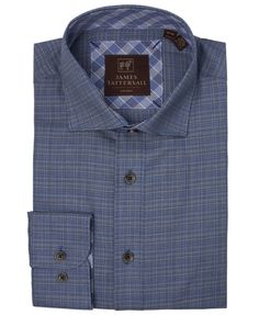 JTW6639-Blue from James Tattersall Clothing