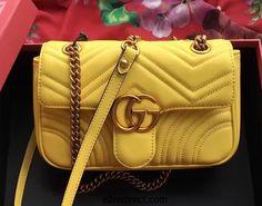 Fashion trend: Women's Gucci Marmont Matelassé shoulder bag