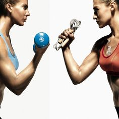 Strength training vs. Cardio: In our fitness faceoff, we decoded which discipline you should devote your sweat to--and created a workout thats perfectly proportioned to give you all the benefits. fitness-tips-workouts healthy-diet great-abs