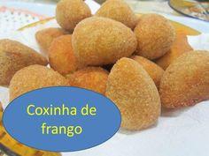 COXINHA DE FRANGO DA VÓ LURDES