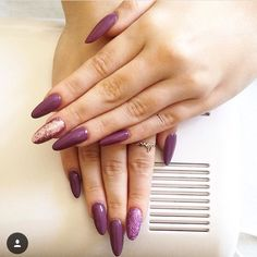#stiletto #violet #sparkles