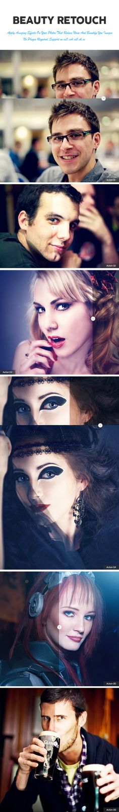 Beauty Retouch Photoshop Action — Photoshop ATN #adjustment #photoshop • Available here → https://graphicriver.net/item/beauty-retouch-photoshop-action/11411734?ref=pxcr