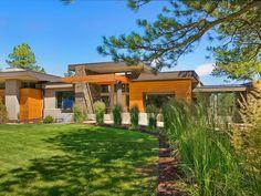 Asian Modern Home in Evergreen Colorado. Design-Build by Entasis Group.