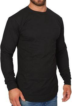 Tolles Shirt und angenehm zu tragen  Bekleidung, Herren, Tops, T-Shirts & Hemden, Langarmshirts Longsleeve, Slim Fit, Fitness, Sleeves, Mens Tops, Fashion, Fashion Clothes, Button Up Shirts, Summer