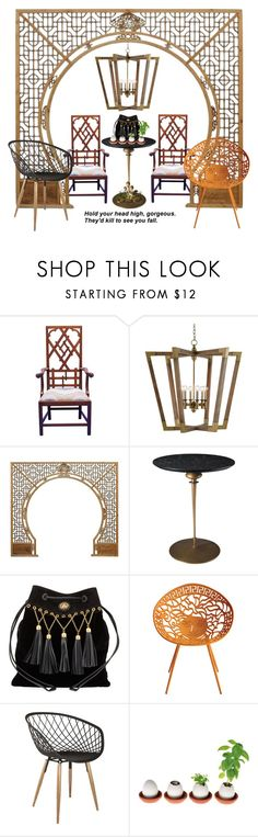 """""""No jealousy, please #13234"""" by didesi ❤ liked on Polyvore featuring interior, interiors, interior design, home, home decor, interior decorating, Miu Miu, Versace, Posh Totty Designs Interiors and kitchen"""