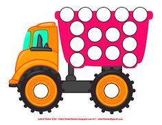 Transportation Preschool Activities, Fun Activities For Toddlers, Preschool Worksheets, Preschool Transitions, Reward Chart Kids, Birthday Angel, Do A Dot, Color Shapes, Fun Projects
