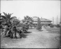 Union Station Park, New Orleans, Louisiana 1906 Basically still looks the same 2014