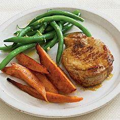 Spice-Rubbed Pork Chops | MyRecipes.com